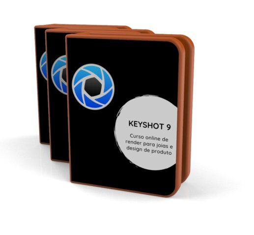 Keyshot render para joalheria e design de produtos