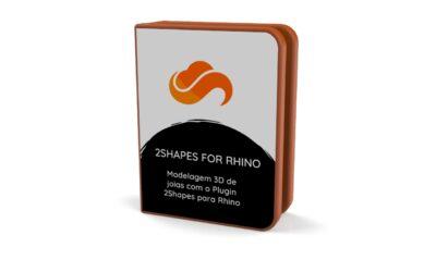 Modelagem de joias com 2Shapes for Rhino